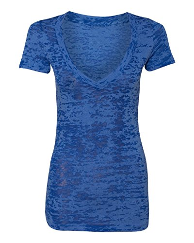 YogaColors Women's Burnout Deep V Neck ()
