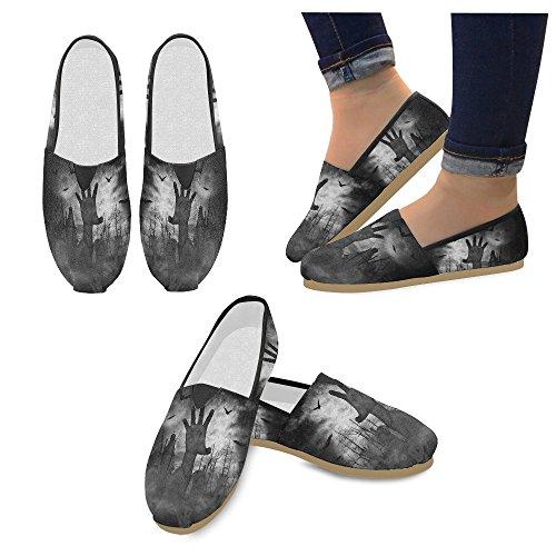 Interestprint Zombie Loafers Casual Sko For Menn Kvinner Zombie