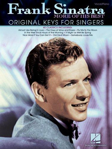 Frank Sinatra - More of His Best: Original Keys for Singers