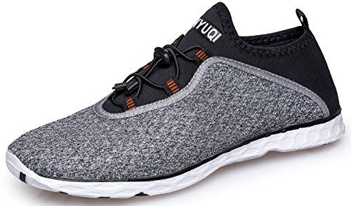 TIANYUQI Men's Mesh Slip On Water Shoes by TIANYUQI (Image #1)
