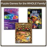 Mumbo Jumbo Challenging Puzzle Computer Games for The Whole Family (Bejeweled 2 / Super Collapse 3 / Luxor)