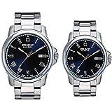 [スイスミリタリー] SWISS MILITARY 腕時計 ペアウォッチ ROMAN メタルベルト ML376 ML378 【正規輸入品】