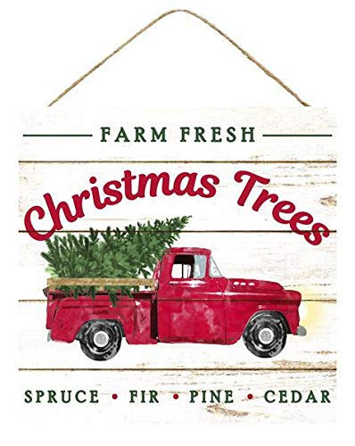 Farm Fresh Christmas Trees Sign - 10