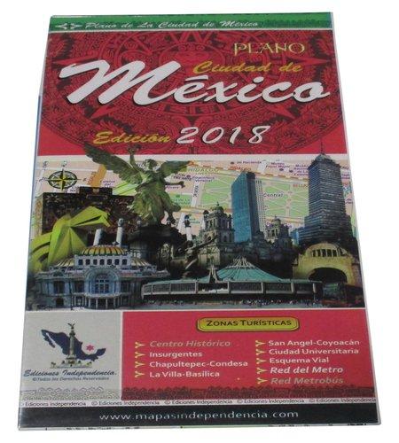 Mexico City, Mexico, 2016 Edition City Map (Spanish Edition)