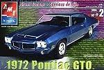 AMT 1972 Pontiac GTO Plastic Model by AMt