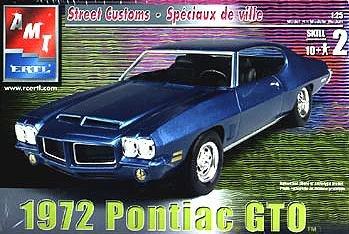 AMT 1972 Pontiac GTO Plastic Model (Gto Model Car)