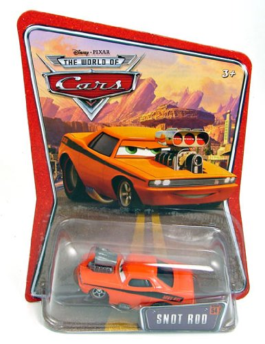 Snot Rod - Mattel Cars Supercharged Snot Rod