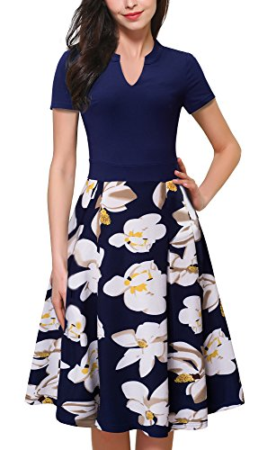 HOMEYEE Womens Elegant Floral Cocktail product image