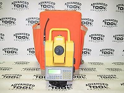 Trimble ATS Geodimeter Robotic Total Station 2.4ghz w/ 600 CU Keypad & Backpack