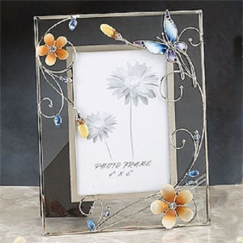 butterfly-adorable-blue-crystal-glass-photo-frame