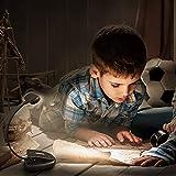 LEPOWER 9 LED Book Light Clip on Reading