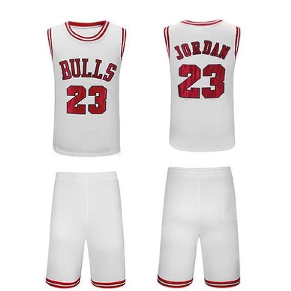 MHDE Bull 23 Jordan Retro Baloncesto Jersey Uniforme Deportes ...