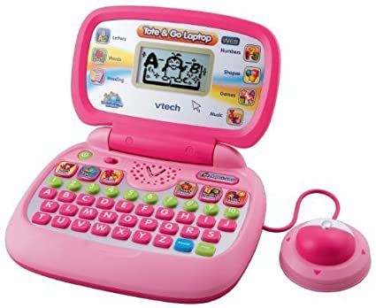Amazon Com Vtech Tote Go Laptop With Web Connect Pink By