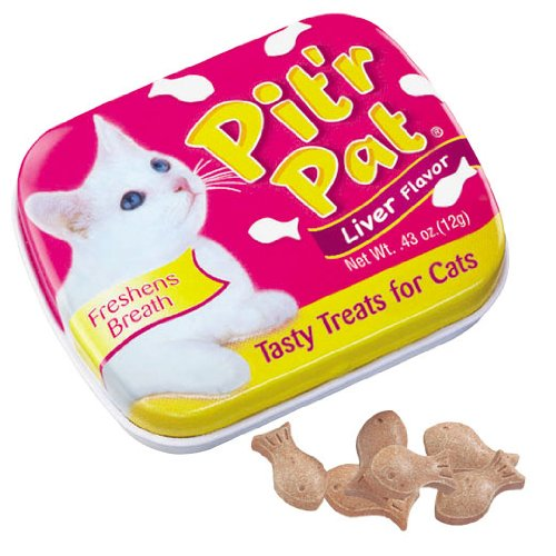 12 Cans of Pit'r Pat Liver 0.43oz tin