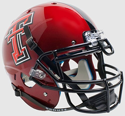 - NCAA Texas Tech Red Raiders Unisex NCAA Texas Tech Red Raiders On-Field Authentic XP Football Helmetncaa Texas Tech Red Raiders On-Field Authentic XP Football Helmet, Guns Up Alt, One Size
