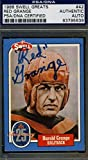 Red Grange Signed 1988 Swell Authenticated Autograph - PSA/DNA Certified - Football Slabbed Autographed Cards