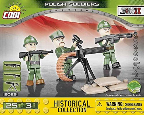 COBI Historical Collection Polish - Collection Soldiers
