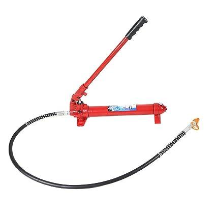 Amazon.com: Goplus 2000lbs 10 Ton Hydraulic Jack Hand Pump Ram ...