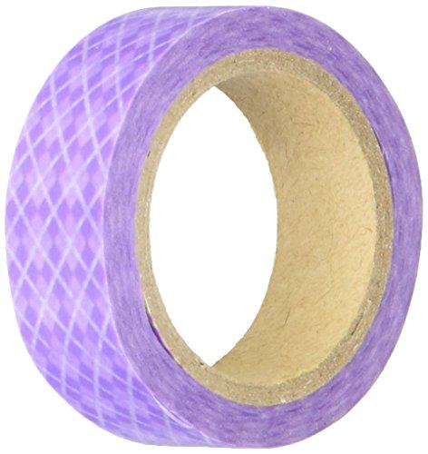 DARICE 1217 123 315 Inch Argyle Purple