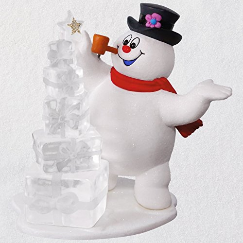 Hallmark Keepsake Christmas Ornament 2018 Year Dated, Frosty The Snowman A Jolly Happy Holiday (Favorite Ornament Frostys)