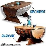 Wine Barrel Coffee Table, Coffee Table, Whiskey Barrel Coffee Table, Wine Barrel Table, Wine Barrel Furniture