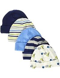 Baby Boys' 5 Pack Caps