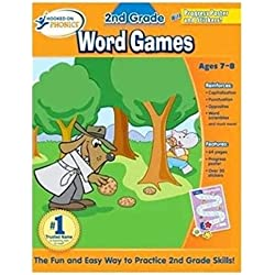 Lunarland Hooked on Phonics 2nd Grade Word Games Reading Book NEW Workbook School