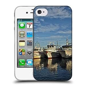 Super Galaxy Coque de Protection TPU Silicone Case pour // F00003078 waterfront exterior del barco Sea // Apple iPhone 4 4S 4G