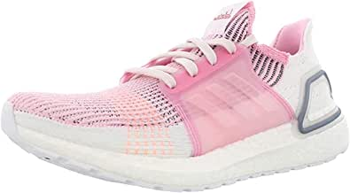 adidas Ultraboost 19 Womens in True Pink/Orchid Tint, 10
