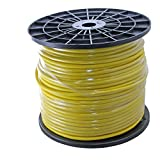 500ft Spool of 20awg Balanced Pro Audio Wire for XLR TRS 2 3 Conductor - Yellow