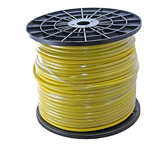 500ft Spool of 20awg Balanced Pro Audio Wire for XLR TRS 2 3 Conductor - Yellow - 2 Conductor Audio