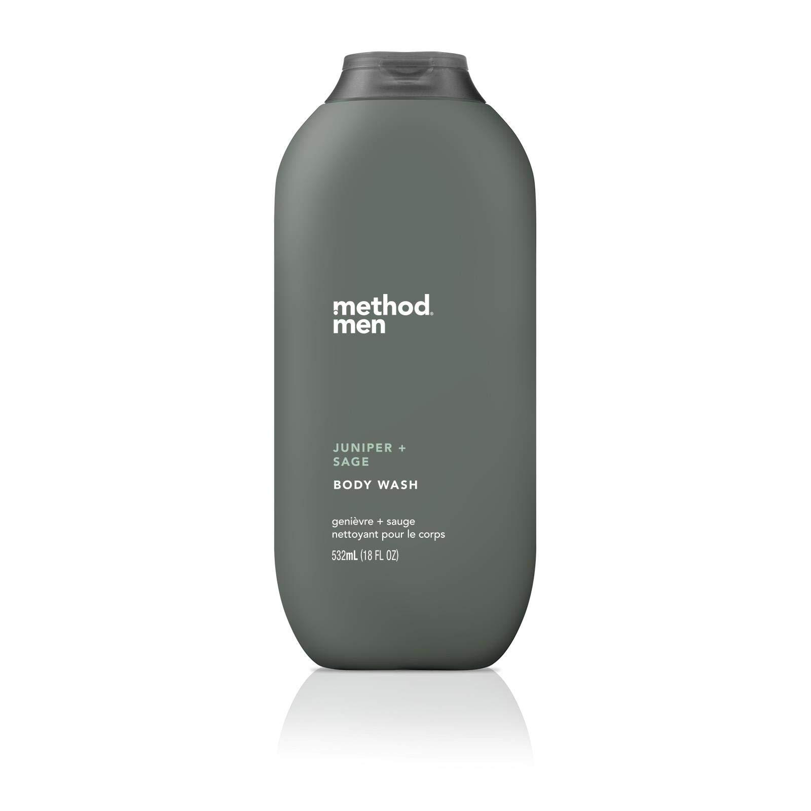 Method Men, Body Wash, Juniper + Sage, 18 fl oz (532 ml)