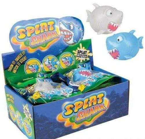 3.25 스 플랫 상어 스 플랫 볼 스 퀴시 신축성 재미있는 장난감(주문 당 1)