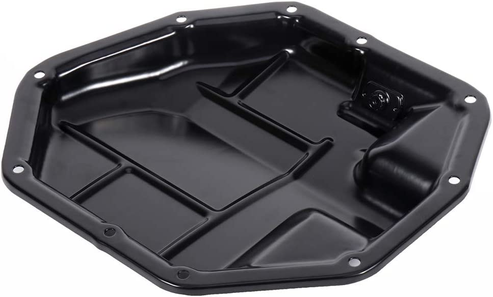 INEEDUP Engine Oil Pan Fit for 2009-2014 Nissan Cube 2007-2012 Nissan Sentra Compatible with OE 264-507