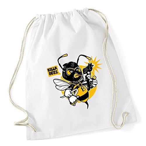 Killa Bee Gymsack White Certified Freak SRKTTcjO