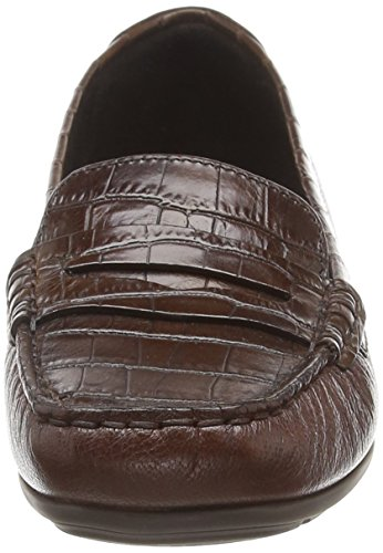 Mocassins loafers Marron brown Femme C D Annytah Moc Geox C0013 Sw7UxI