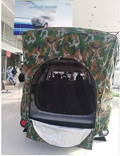 Dongbin Tienda de campaña para 2 Personas, vehículo/Tienda, de un Solo Coche Seguro Tienda de campaña, Transpirable Tres, Dimensional, fácil de aplicar Adecuado para Modelos de SUV,Camuflaje: Amazon.es: Deportes y aire libre