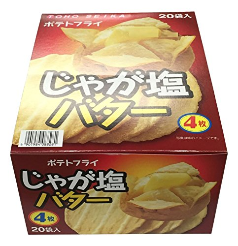 동풍제과 포테이토 플라이 쟈가염 버터 11g×20 포