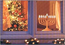 Image result for menorah and christmas tree