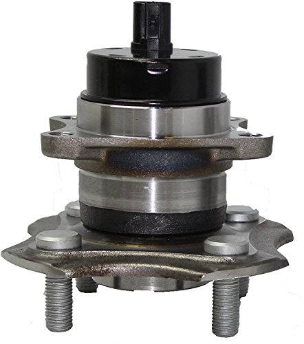 Detroit Axle - Brand New Rear Wheel Hub and Bearing Assembly for For - 2004-06 Scion xA - [2004-06 Scion xB] - 2000-05 Toyota Echo 4-Lug W/ABS 512209