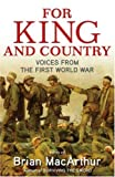 For King and Country, Brian MacArthur, 0349120293