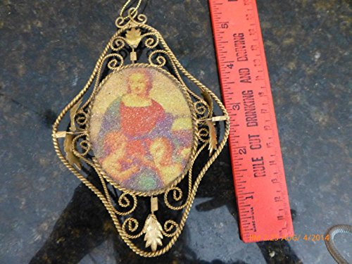 Hand Made Catholic Chirstmas Angle Vintage Hand made ornament saints Children