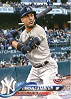 2018 Topps Opening Day #60 Giancarlo Stanton New York Yankees Baseball Card