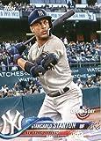 #10: 2018 Topps Opening Day #60 Giancarlo Stanton New York Yankees Baseball Card
