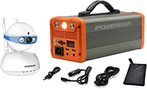 POWERIVER Portable Power Station and Home Camera