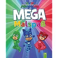 PJ Masks - MEGA Malspaß: Extra dick: 96 Seiten im Großformat