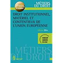 Droit institutionnel materiel