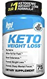 BPI Sports Ketogenic Weight Loss Supplement, 75 Count