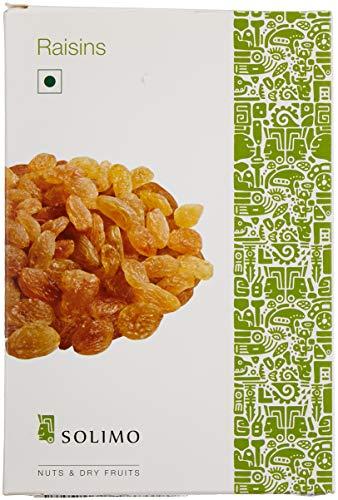 Amazon Brand – Solimo Premium Raisins,Dried,500 gms