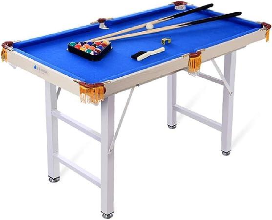 Mesa de billar YYX Plegables de Madera de los niños Billares/Mesas de Juego con 2